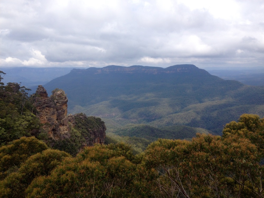 Blue Mountains in Australien
