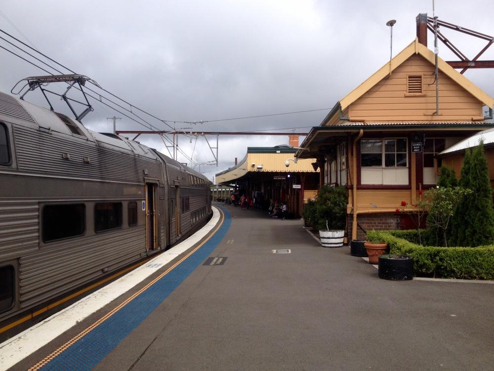 Bahnhof von Katoomba in Australien