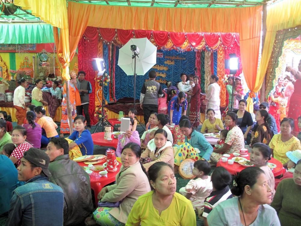 Fest in Myanmar