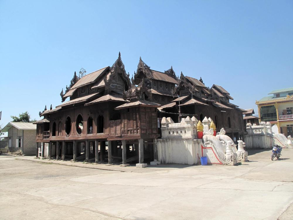 Shwe-yan-pyay-Kloster am Inle-See
