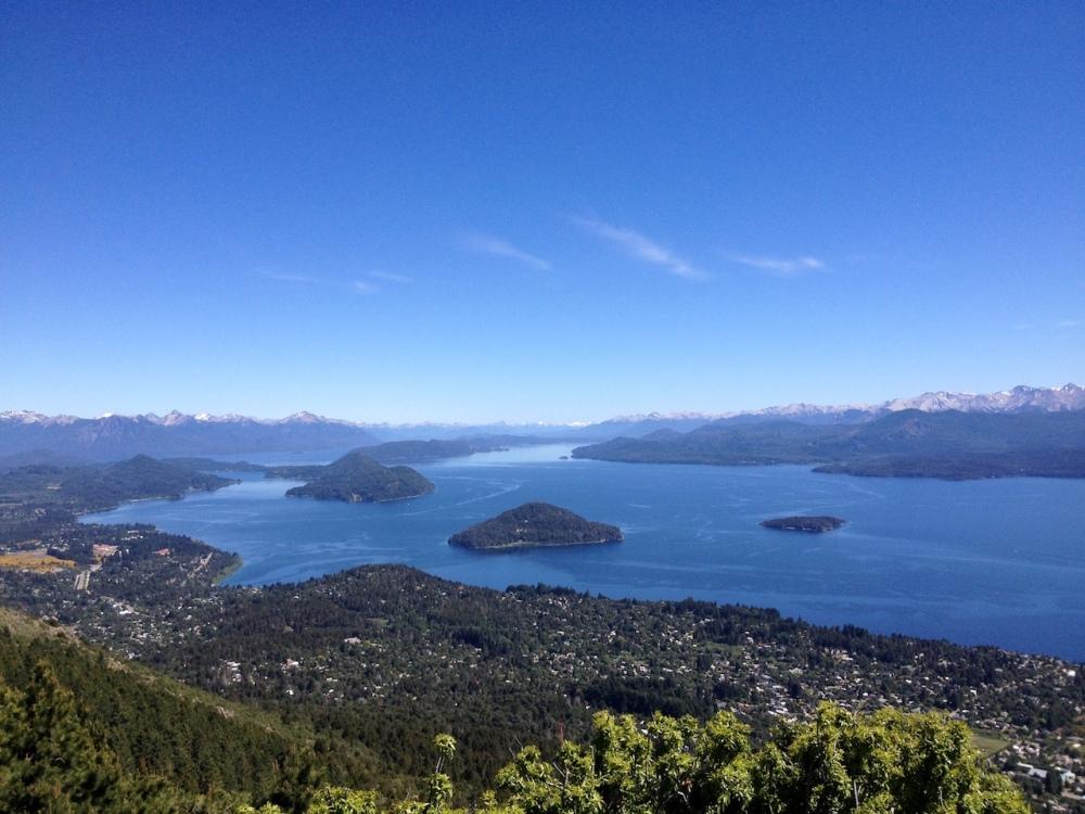 Seengebiet bei Bariloche in Patagonien