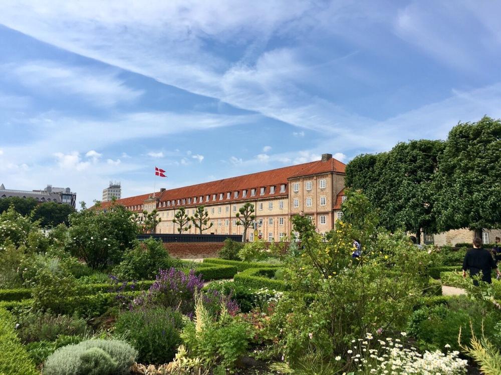Königsgarten von Schloss Rosenborg in Kopenhagen