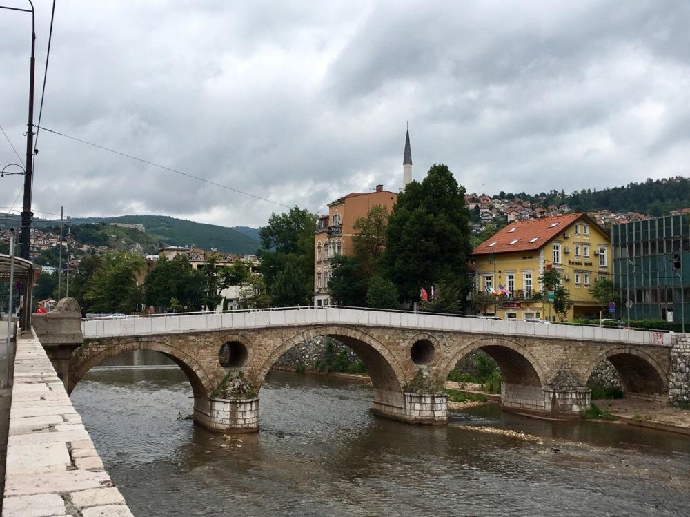 Lateinerbrücke von Sarajevo