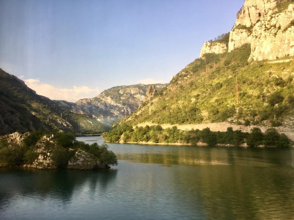 Zugstrecke von Sarajevo nach Mostar