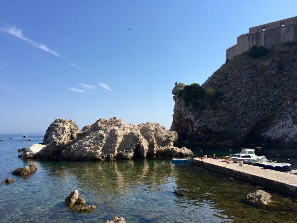Bucht bei Dubrovnik