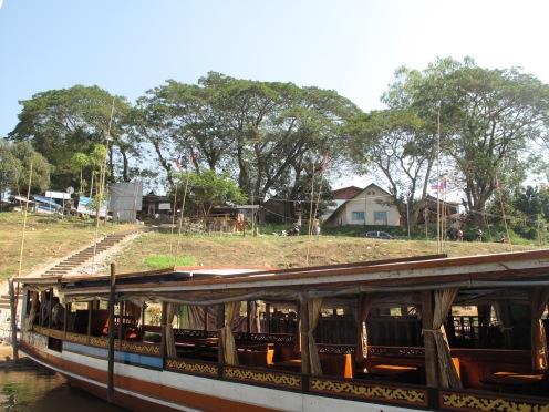 Das Slow Boat bietet Platz für etwas 80 Gäste.