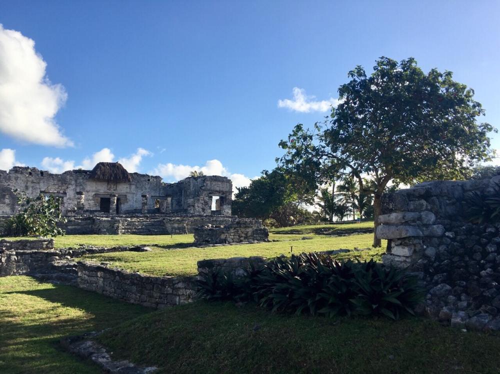 Die Ruinen von Tulum in Mexiko