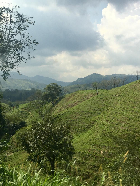 Strecke von Palenque nach San Cristobal de las Casas